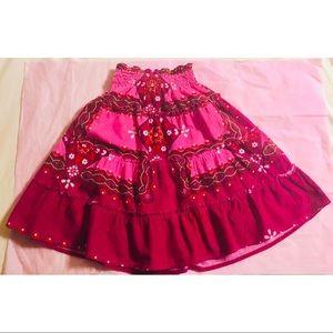 🔥3/$27🔥 Parisian kids Corduroy boho ruffle skirt